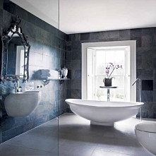 Szara łazienka to łazienka nowoczesna i tradycyjna zarazem - zainspiruj się ł...