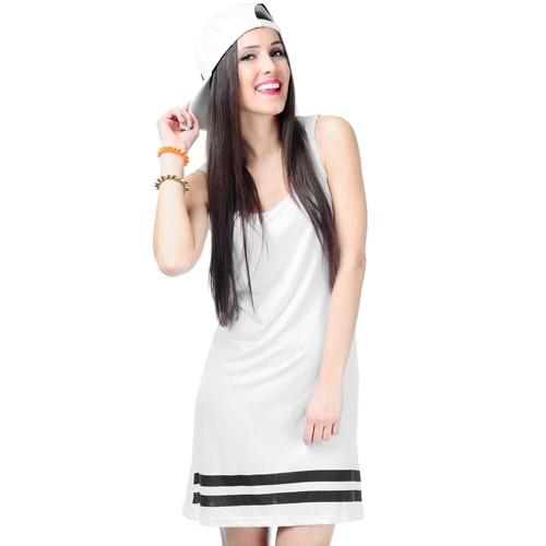 Sukienka Baseball Biała