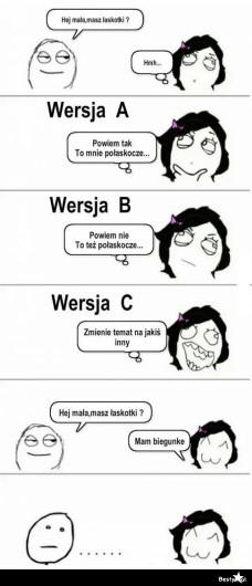 hahahaha głupie, ale śmieszne ;)