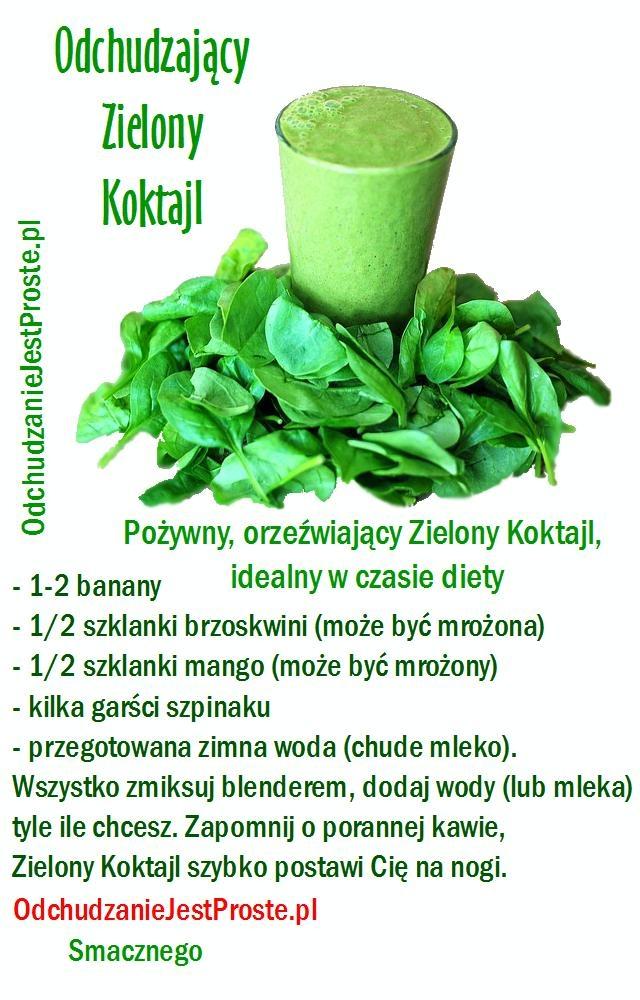 Zielony KOKTAJL miksuj z nami :)