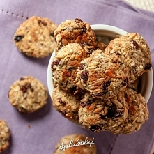 Ciasteczka z kaszą jaglaną i słonecznikiem – wegańskie i bezglutenowe