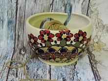Włóczka w misce... yarn bowl