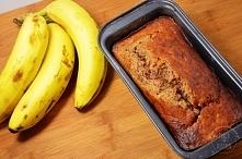 Ciasto bananowe! Szybkie i pyszne! przepis po kliknięciu w zdjęcie pinchofkit...