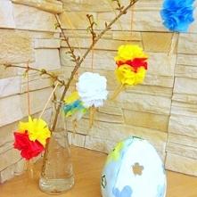 Dekoracja na Wielkanoc - kolorowe kłosy! Bardzo proste w wykonaniu ;) Zaprasz...