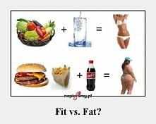 Fit vs. Fat?  ja wybieram FIT!