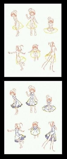 Jak narysować sukienkę