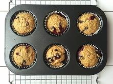 Muffiny bez cukru i bez mąk...