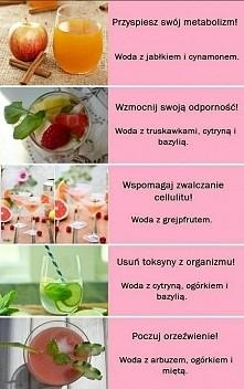 coś na metabolizm, odporność, orzeźwienie :) smacznego :)