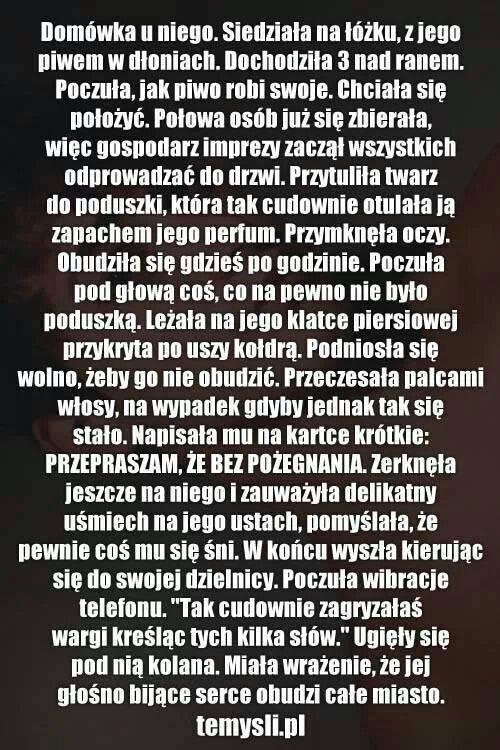 f71eda520a68e4 Zakochałam się :) na Ulubione cytaty :* - Zszywka.pl