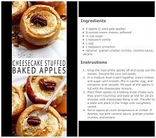 pieczone jabłka ze serem