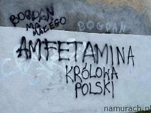 Królowa amfetamina - graffiti Wrocław