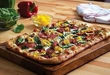 szybka fit pizza bez drożdży!!!! Składniki : -2 szklanki mąki żytniej lub pszennej pełnoziarnistej -3/4 szklanki mleka -1/3 szklanki oliwy (może być olej, ale oliwa daje włoski ...