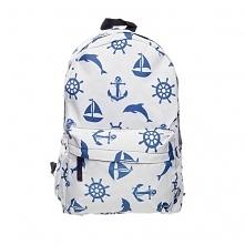 Plecak Fullprint Biały Marine