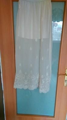 Spódnica maxi mgielkowa z h...