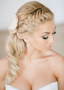 ... perfect wedding, perfect hair