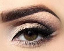 makijaż oka. Piękny.