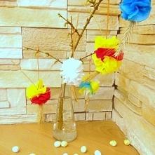 Wielkanocna dekoracja - kol...