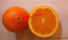 """Pamiętajcie, aby wybierać pomarańcze z """"pępuszkiem"""" pośrodku. WIĘCE..."""