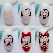 Jak stworzyć Minnie Mouse ;) instagram @mani_alexis