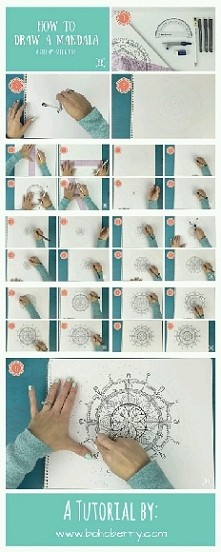 Jak narysować mandalę?