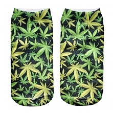 Skarpetki Black Weed