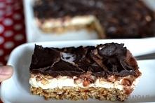 zdrowsza wersja ciasta snickers ;)