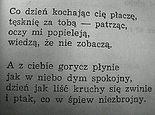 """Pragnienia"" K.K. Baczyński"