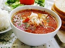 przepis na pyszną zupę pomidorową na bulionie - pomidorówka