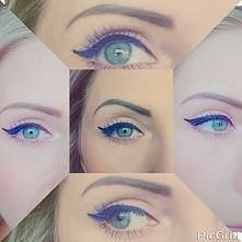 Blue lashes <3