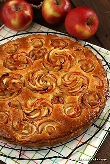 Migdałowo-jabłkowa tarta z ...