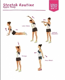 stretching upper body - gór...