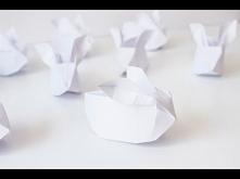 DIY Papierowe króliczki
