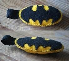 Brelok BATMAN z filcu ;)