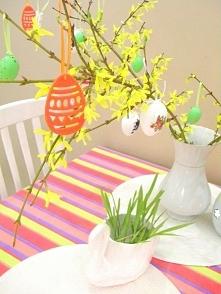 Proste dekoracje Wielkanocn...