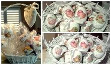 Jajka Wielkanocne Decoupage...
