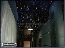 oświetlenie korytarza, gwieździste niebo, aranżacja korytarza, oświetlenie LE...