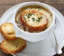 Klasyczna zupa cebulowa Przepis Magdy Gessler