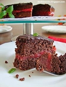 Tort czekoladowy z fasoli z...
