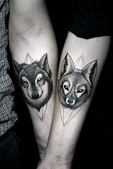 Tatuaż dla par :) Cudowne w...