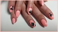 #manicure#cute#koty#paznokcie#paznokciewzorki