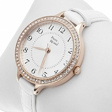 biały zegarek komunijny dla dziewczynki