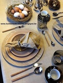 mój Wielkanocny stół :) hom...