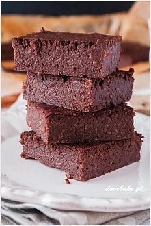 Brownie z kaszy jaglanej ilovebake.pl