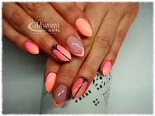 Miss Wanted & Whoops   Nails by Monika, Studio Magnetic Nails Kielce, SPN...