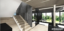 hol i schody - projekt wnętrza | CAPTURED MOMENTS