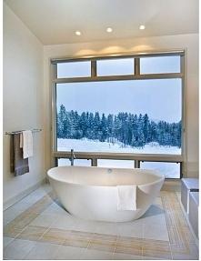 Wnętrze w kolorach zimy - zobacz jak wygląda zimowa łazienka i zainspiruj się...