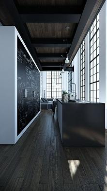 Zimowa kuchnia o nowoczesnym designie to kuchnia w kolorach zimy - biały, cza...