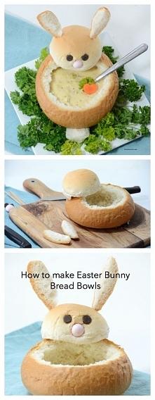 Żurek w oryginalnej misce w kształcie zajączka :) Zaskocz rodzinę w Wielkanoc!