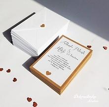 Eko zaproszenia ślubne