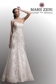 Suknia Ślubna koronkowa Marii Zeni